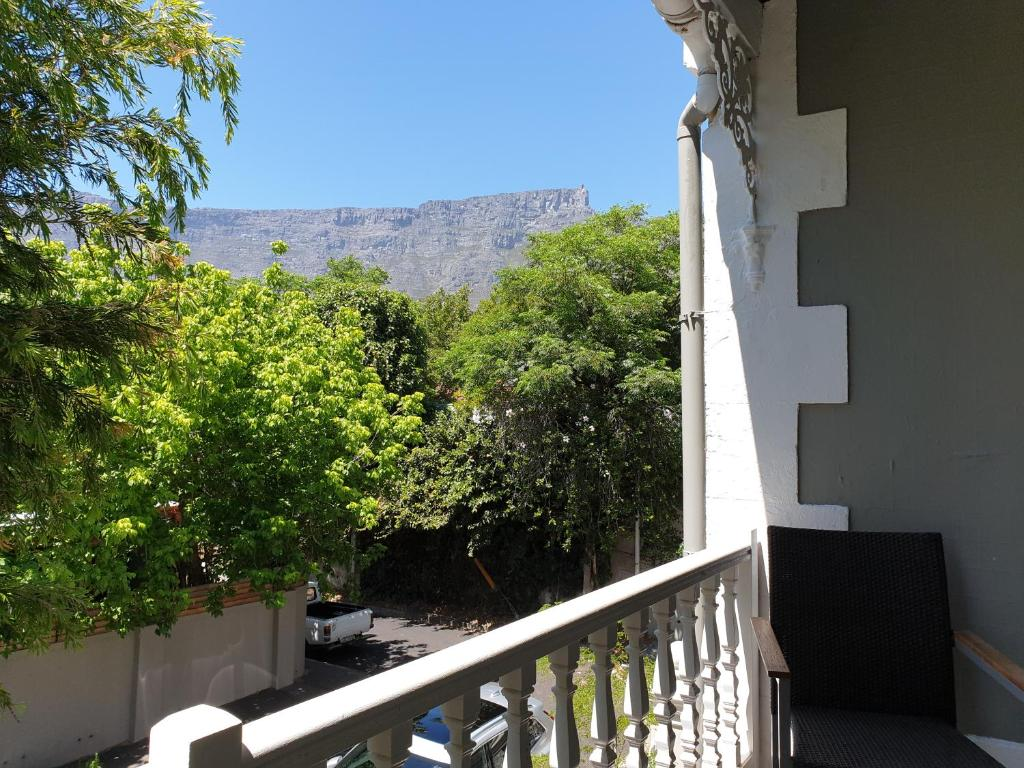 A balcony or terrace at Kloof Lodge