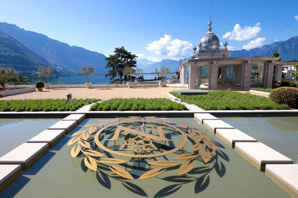 A balcony or terrace at Les Résidences du National de Montreux