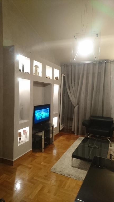 A television and/or entertainment center at Apartman Nikic