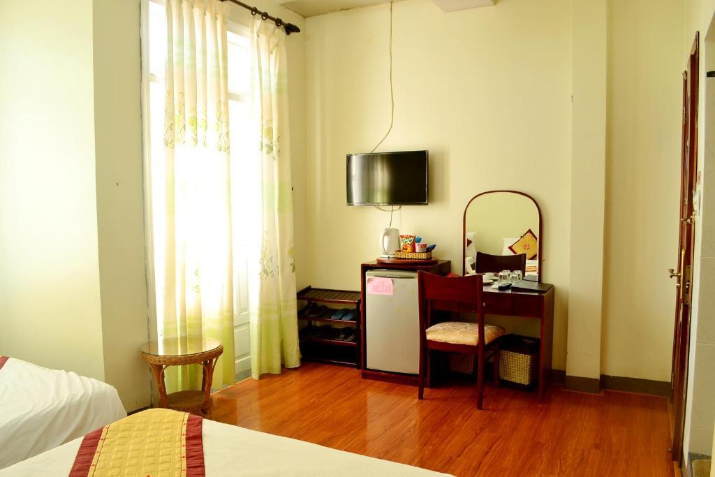 Phòng 4 người với vòi hoa sen