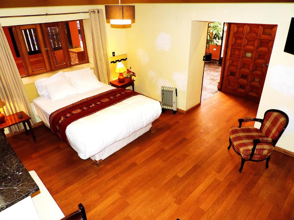 Cama o camas de una habitación en Kintu Classic Cusco