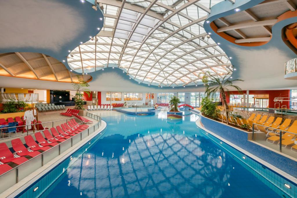 The swimming pool at or near H2O-Hoteltherme