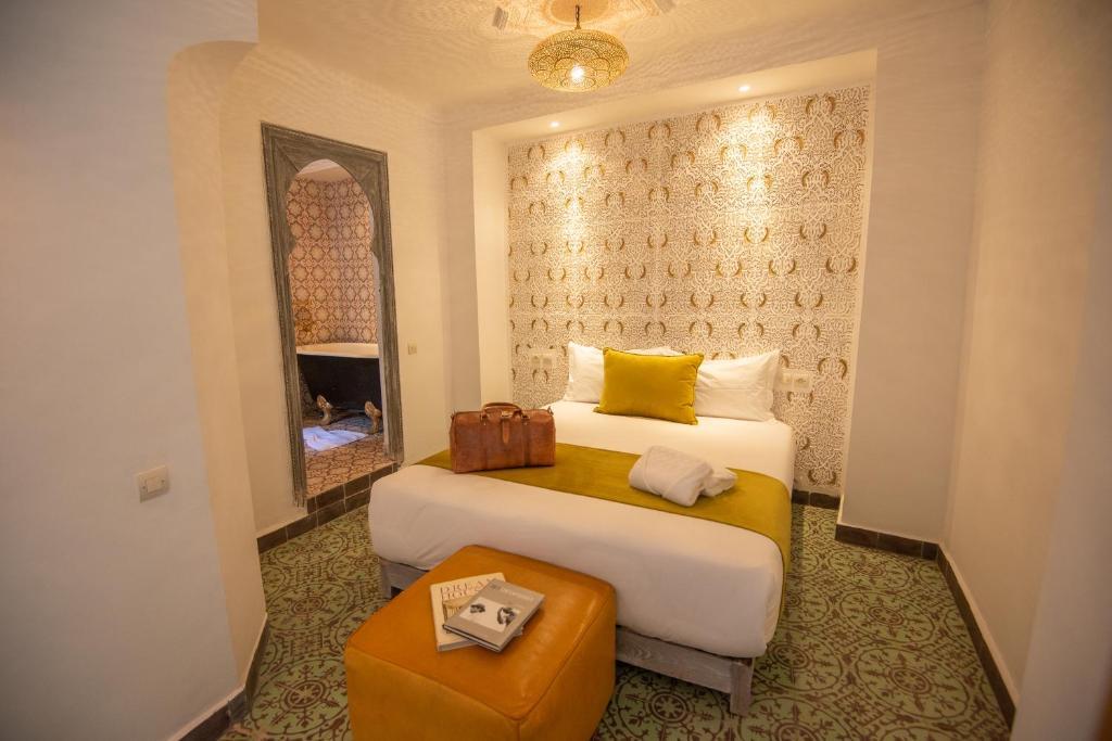 Zona de estar de Riad & Spa Anahita