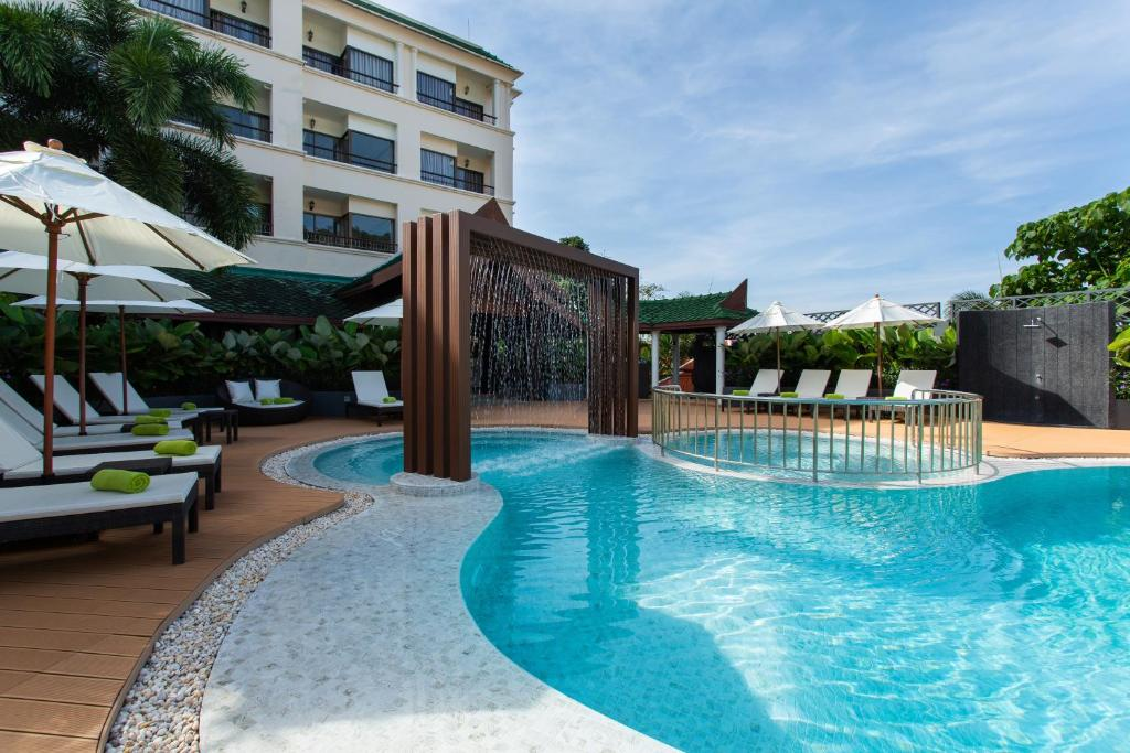The swimming pool at or near Krabi Heritage Hotel