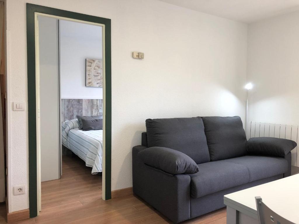 Гостиная зона в Apartamentos Candanchu VTV