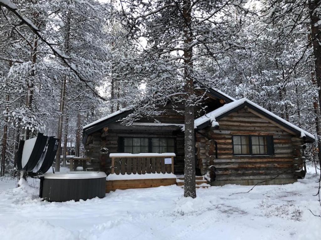 LeviRoyal Eturakka Cottage semasa musim sejuk