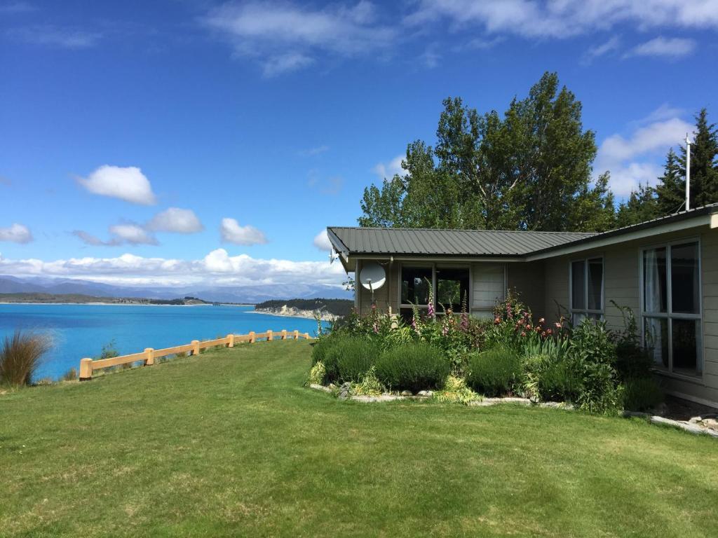 Дом для отпуска Pukaki Lakeside Getaway House (Новая Зеландия Озеро Пукаки)