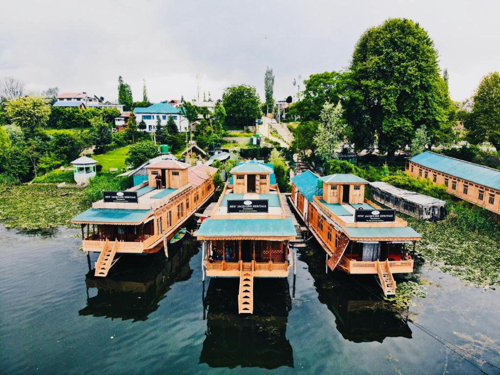 A bird's-eye view of New Jacquline Heritage Houseboats
