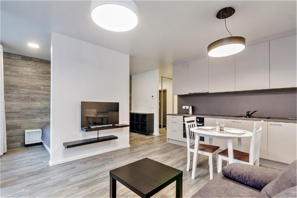 Apartments Vilnius 1 Near Center With A Roof Terrace And