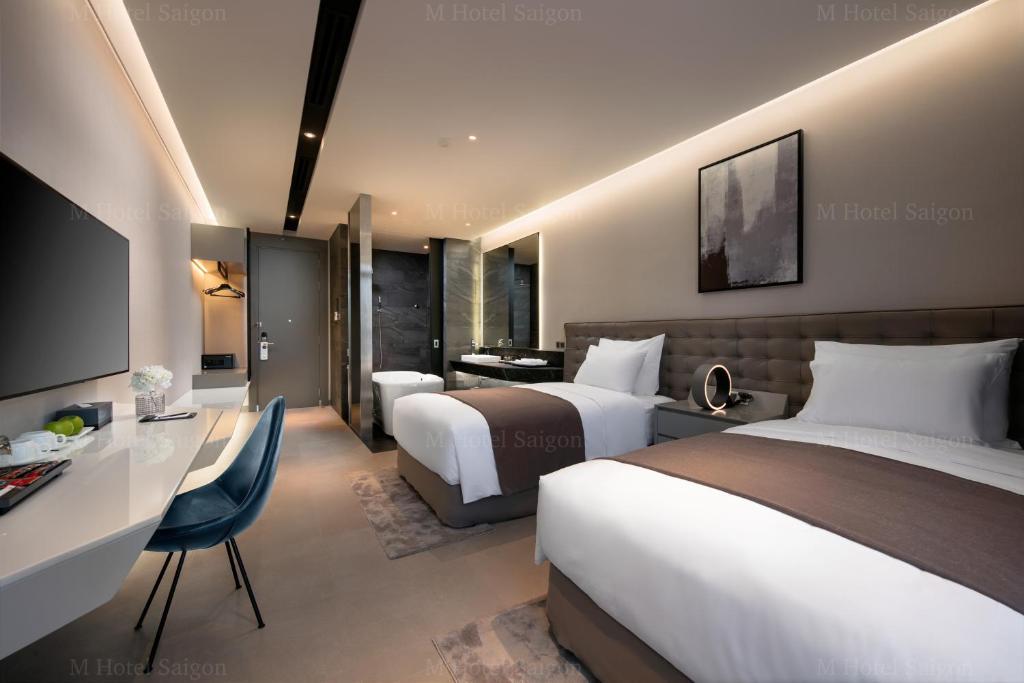 Suite 2 Giường Đơn Nhìn Ra Thắng Cảnh Văn Hóa