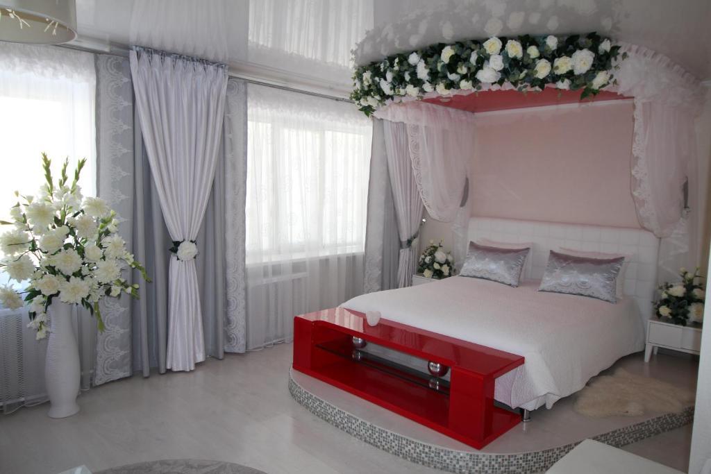 Кровать или кровати в номере Hotel Buzuluk