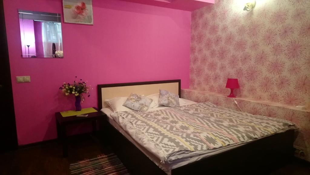 Cama o camas de una habitación en Polyanka Hostel on Chistye Prudy