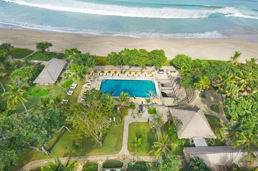 Вид на басейн у The Oberoi Beach Resort, Bali або поблизу