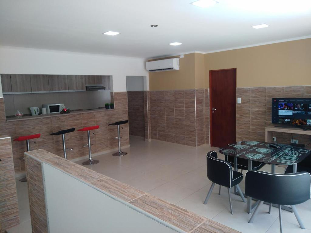 Una cocina o kitchenette en Departamento Centrico Nuevo