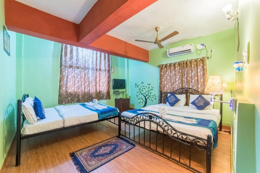 A bed or beds in a room at Kiara BnB Home