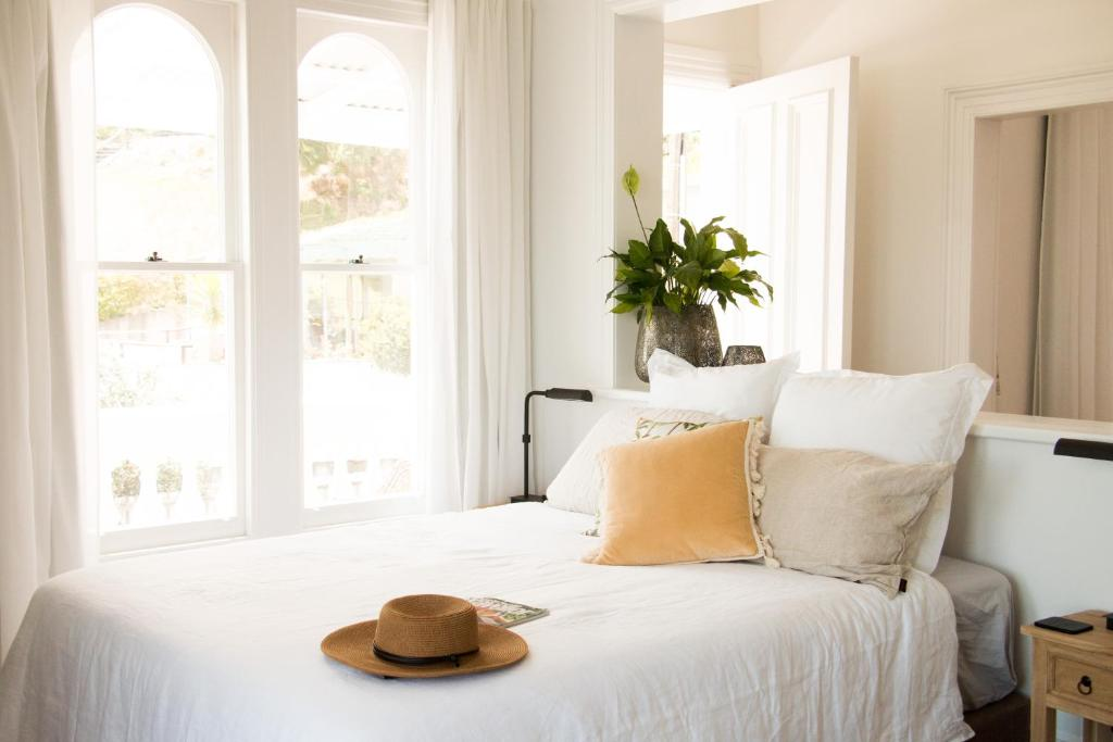 A bed or beds in a room at Villa LuLu