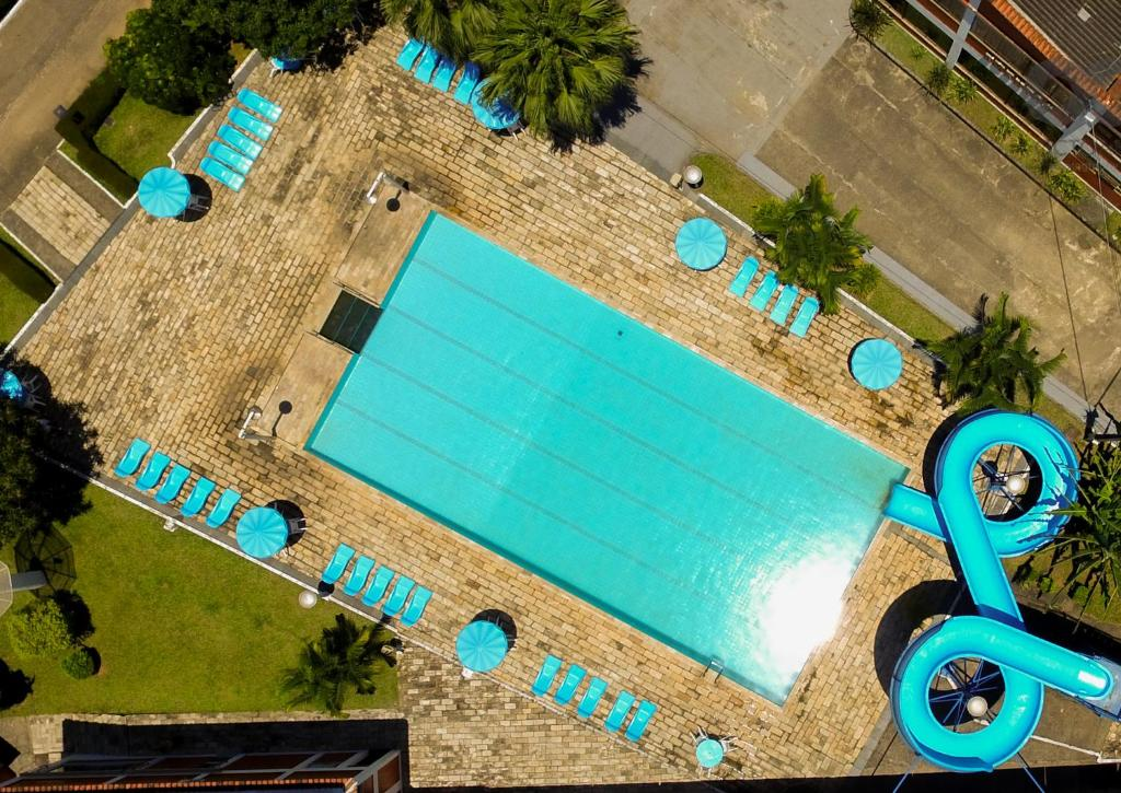 A view of the pool at City Park Hotel or nearby