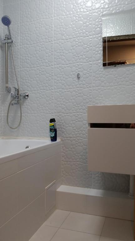 A bathroom at пограничная, дом 19