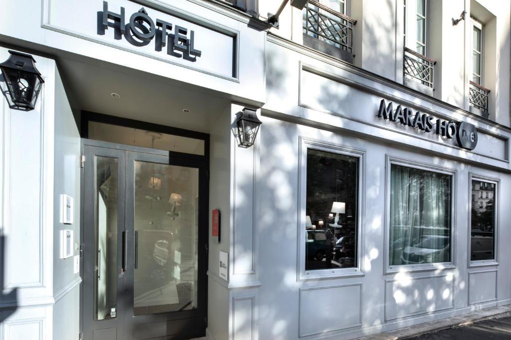 Hotel Marais Home.