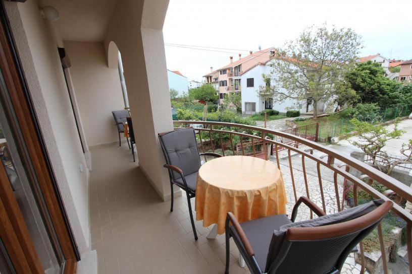 A balcony or terrace at Apartments Fabris