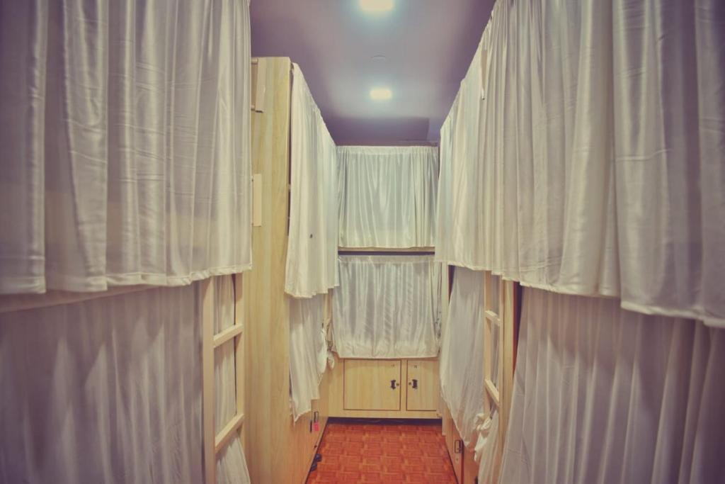 A bunk bed or bunk beds in a room at PERFECT DORMITORY