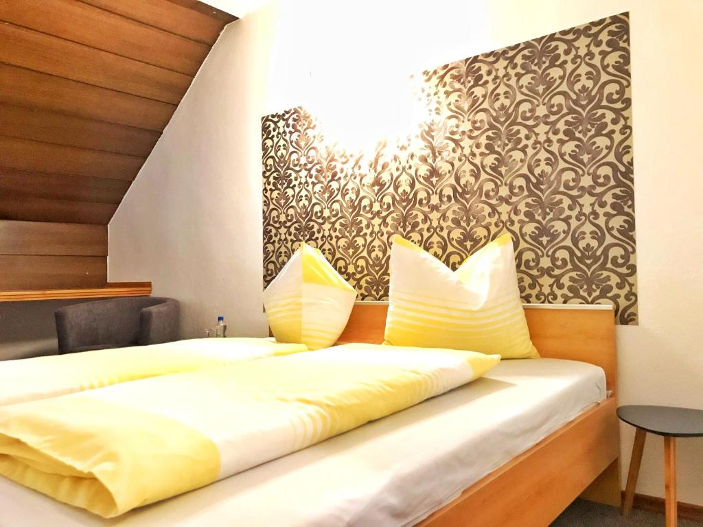 Cama ou camas em um quarto em Reich Motel