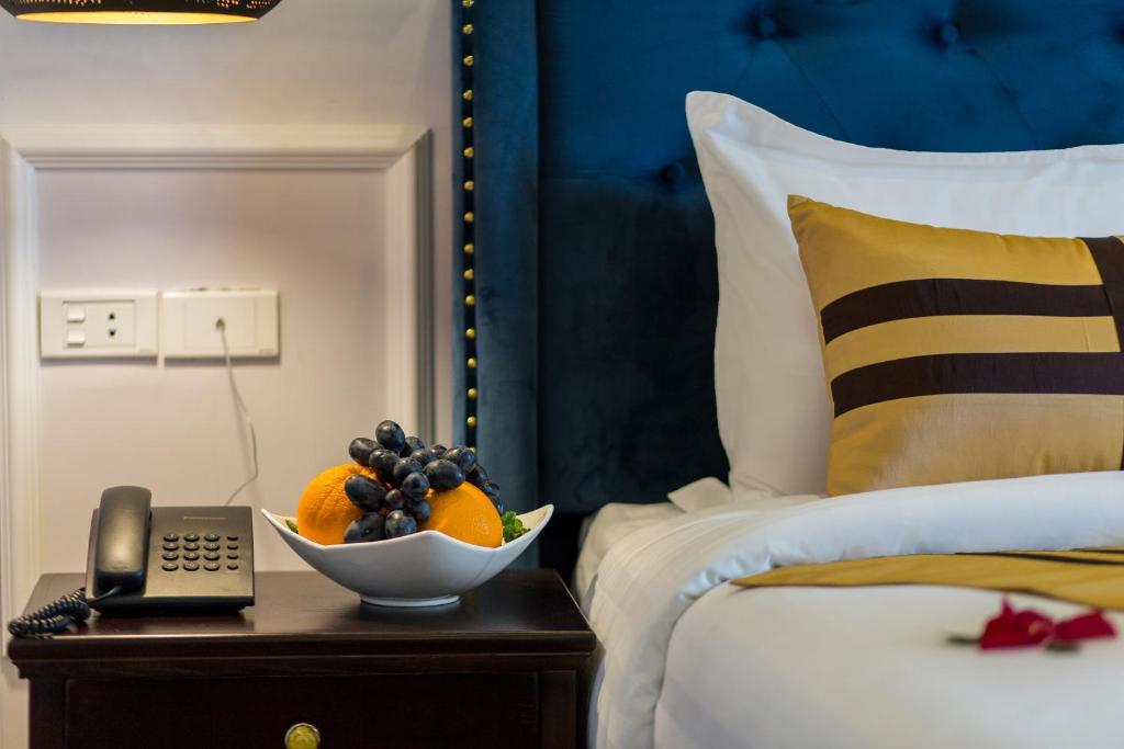 Phòng Deluxe Có Giường Cỡ Queen Nhìn Ra Thành Phố