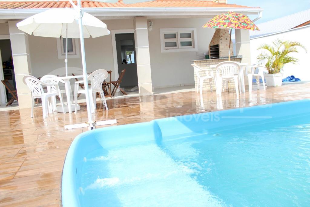 Piscina en o cerca de Casa Ilha Paraíso - Campeche - 3 quartos Com Piscina