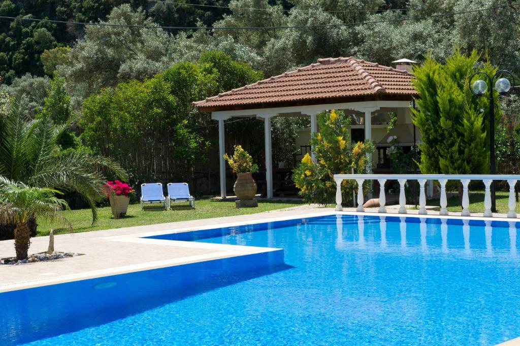The swimming pool at or close to Villa Dimitris Apartments & Bungalows