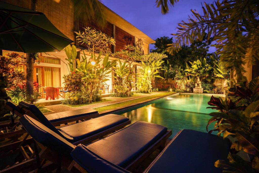 The swimming pool at or near Bali Sila Bisma