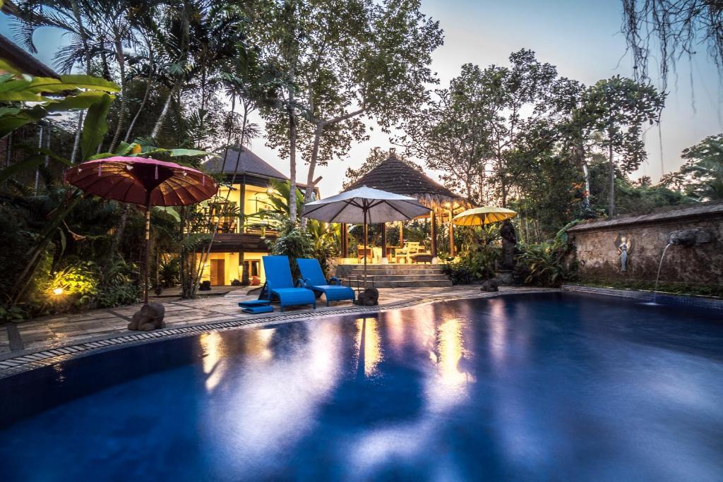 Gajah Biru Bungalows Ubud Indonesia Booking Com