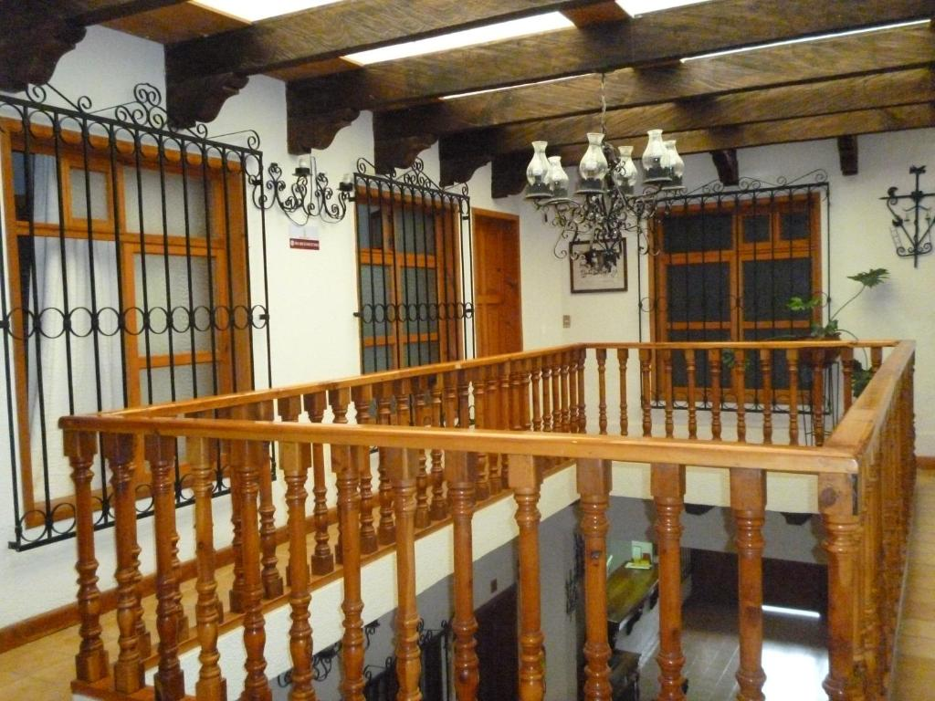 A balcony or terrace at Hotel Don Quijote