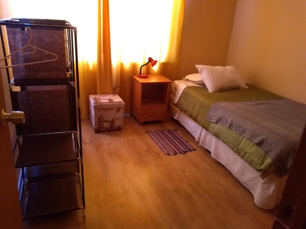 Cama o camas de una habitación en Kingui