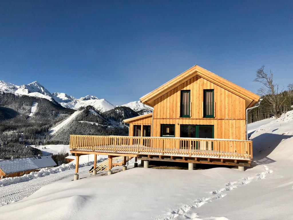 Chalet Triple during the winter