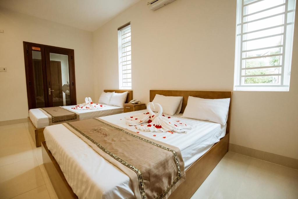 Phòng Deluxe giường đôi hoặc 2 giường đơn với Bồn tắm Spa