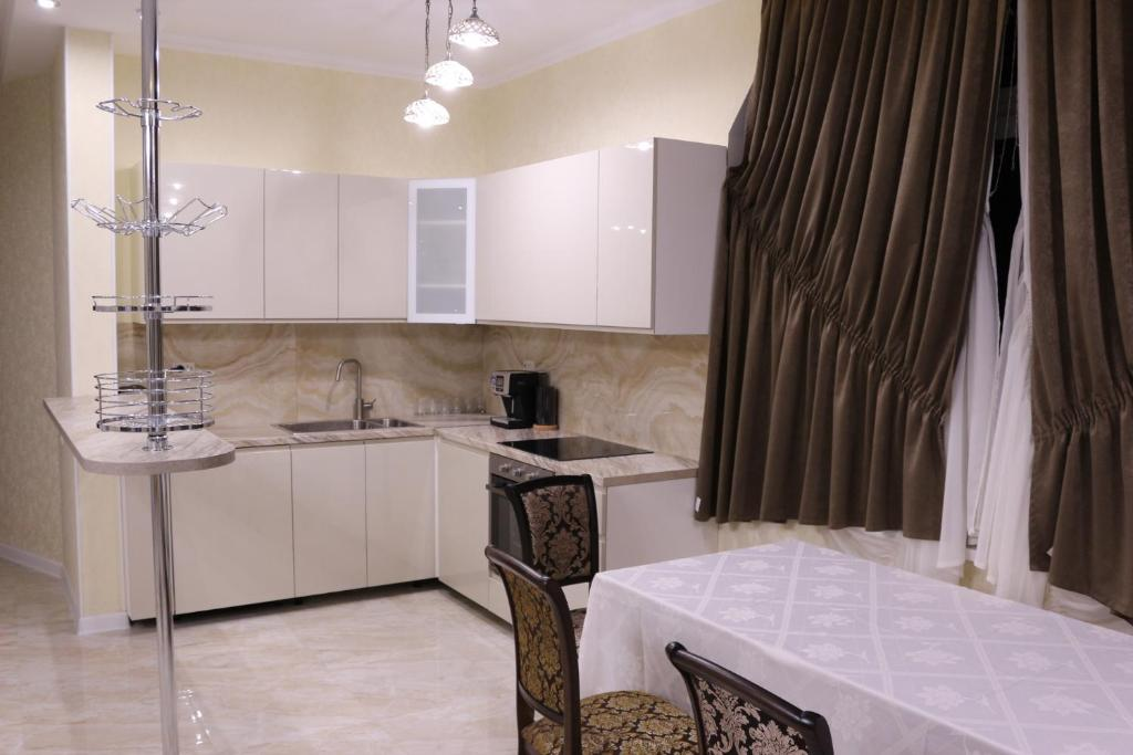 Кухня или мини-кухня в Гостевой дом Будённовский
