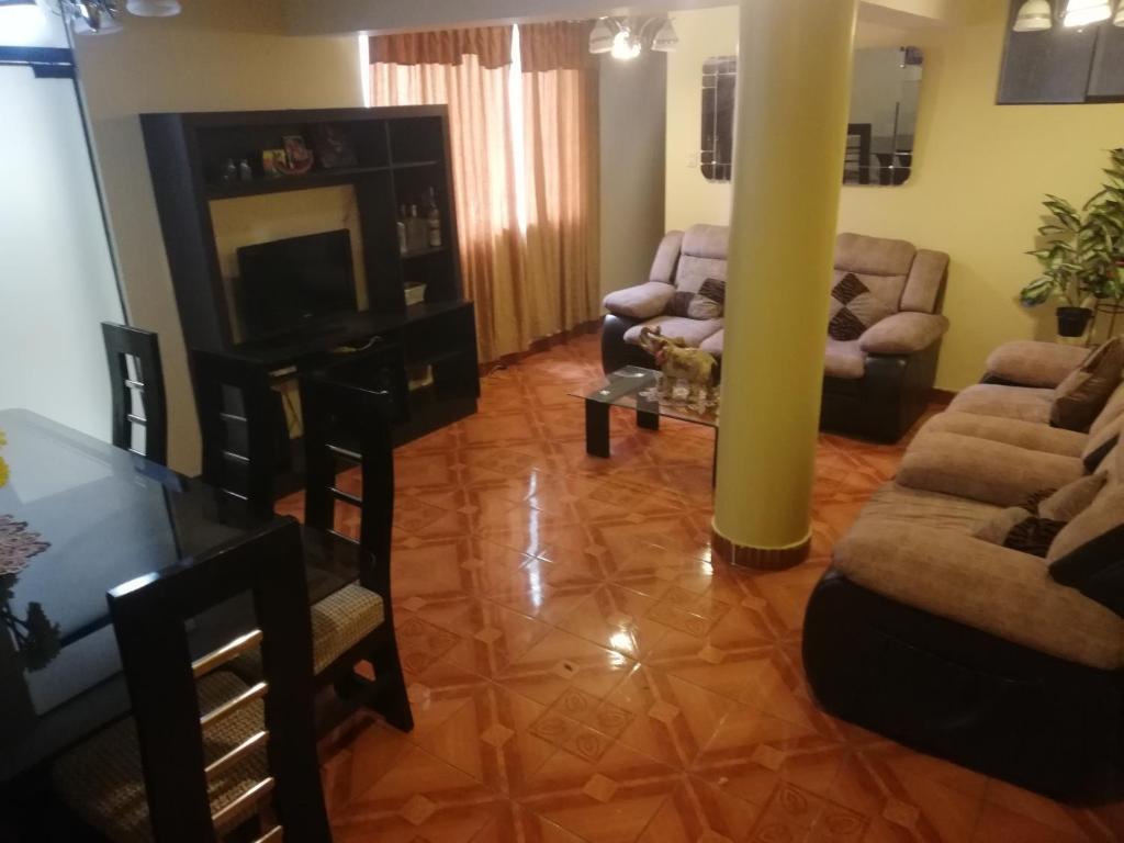 Zona de estar de Av. Infancia 429 Apartamento