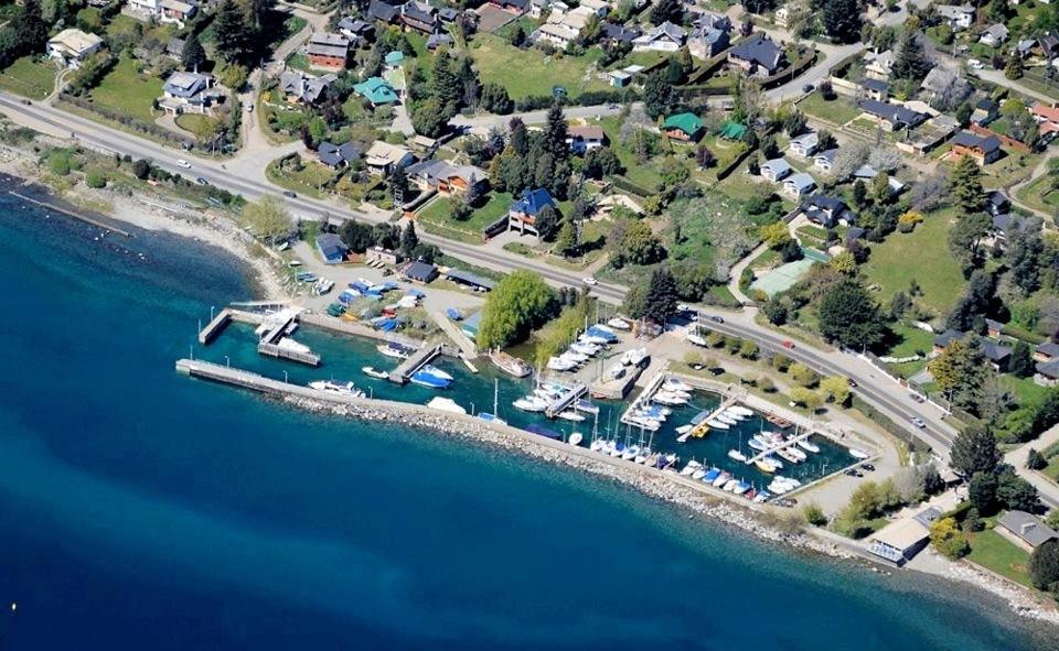 Una vista aérea de El Nautico Apart Bungalows & Suite