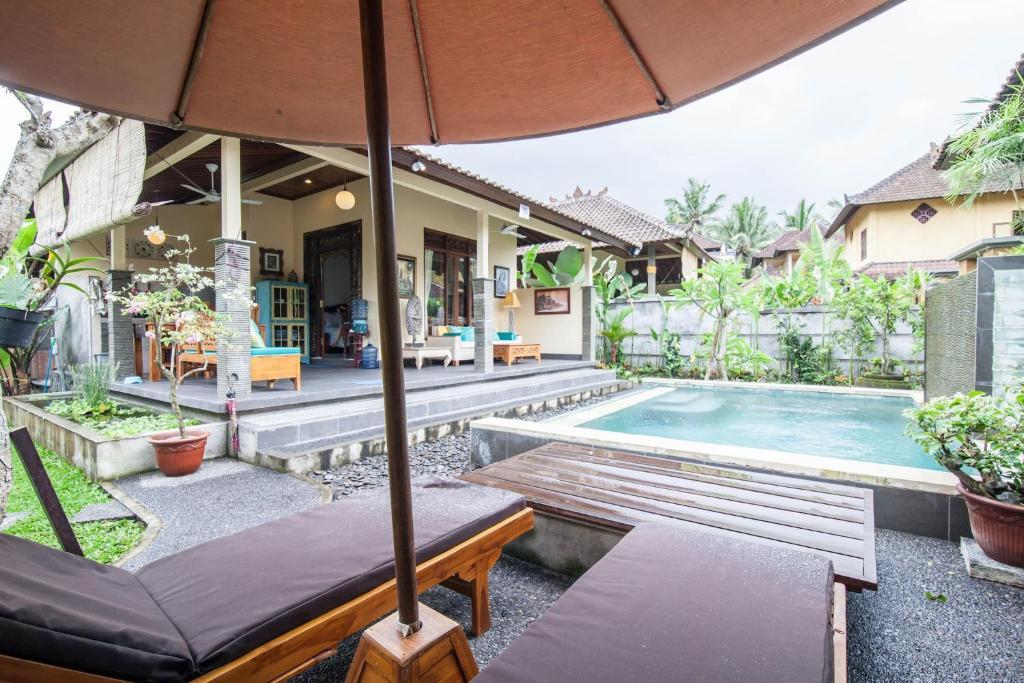 Kolam renang di atau dekat dengan Gardenia Gardens/ubud/best Breakfast In Bali!