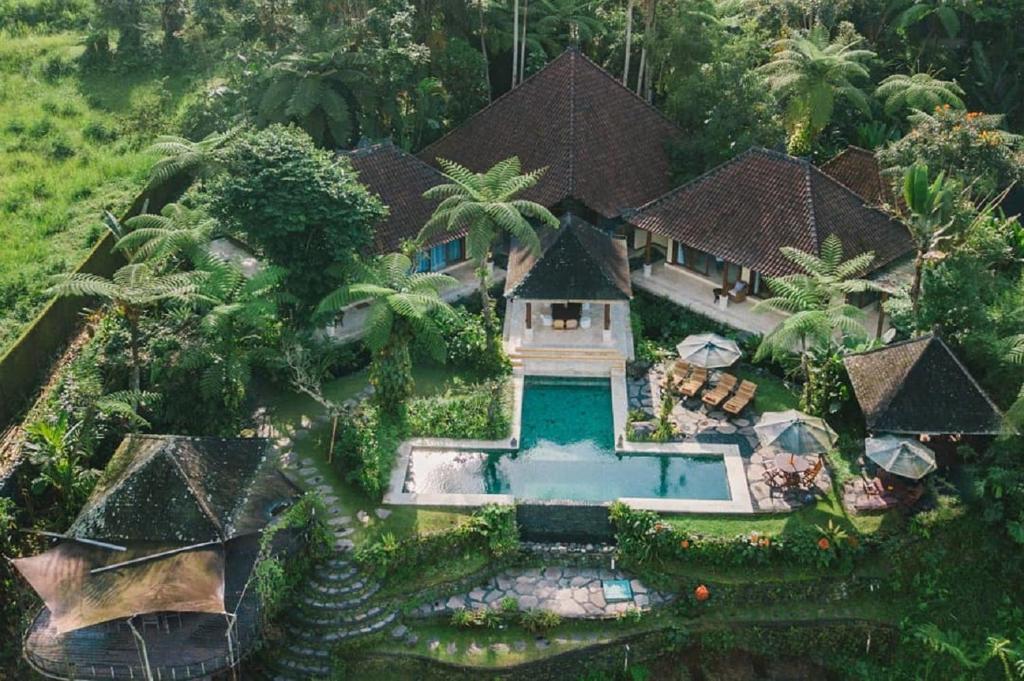 A bird's-eye view of Heaven in Bali