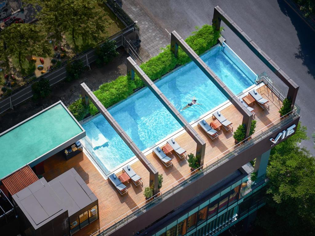 A view of the pool at VIE Hotel Bangkok, MGallery or nearby