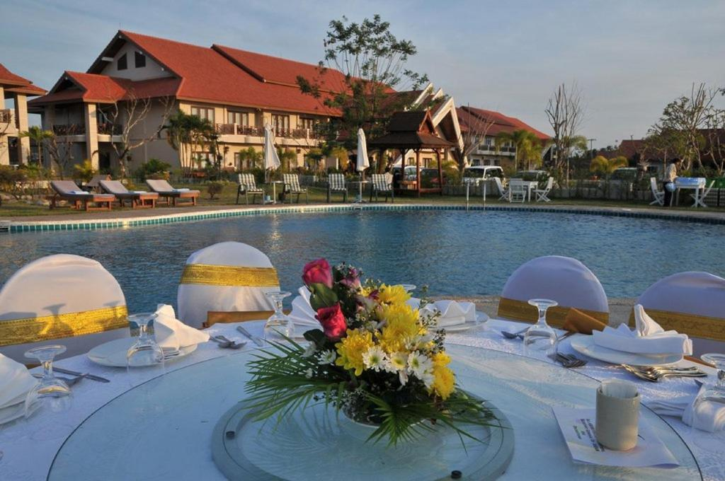 The swimming pool at or near Daosavanh Resort & Spa Hotel
