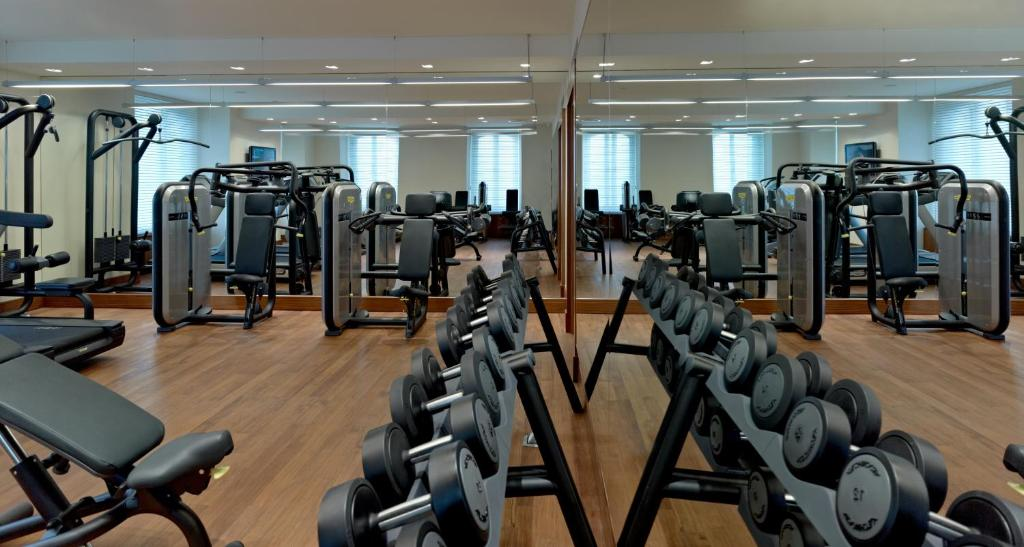 Фитнес-центр и/или тренажеры в Pera Palace Hotel