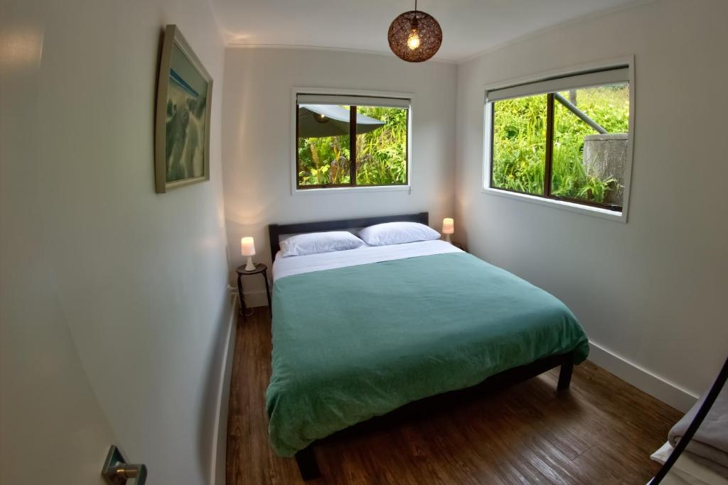 Blackjack Cabin 객실 침대