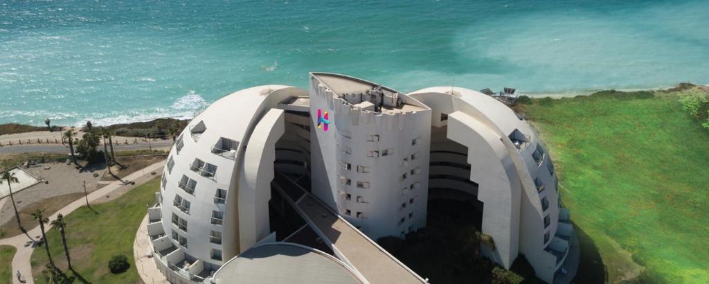 Ēka, kurā atrodas viesnīca