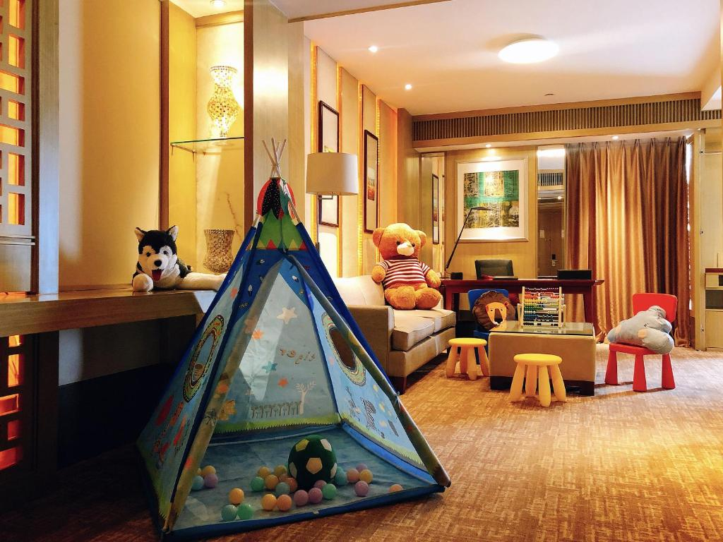 The kid's club at Kempinski Hotel Shenyang