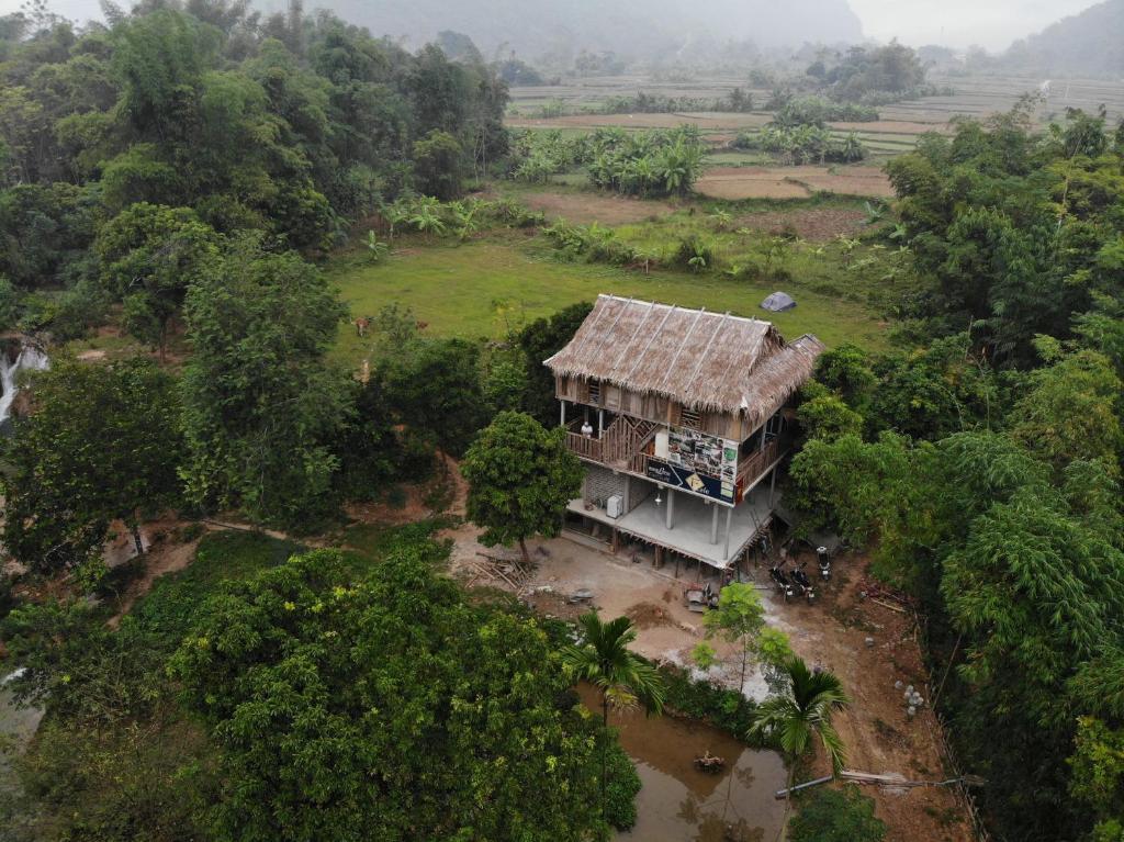 A bird's-eye view of Mai Chau Family Homestay