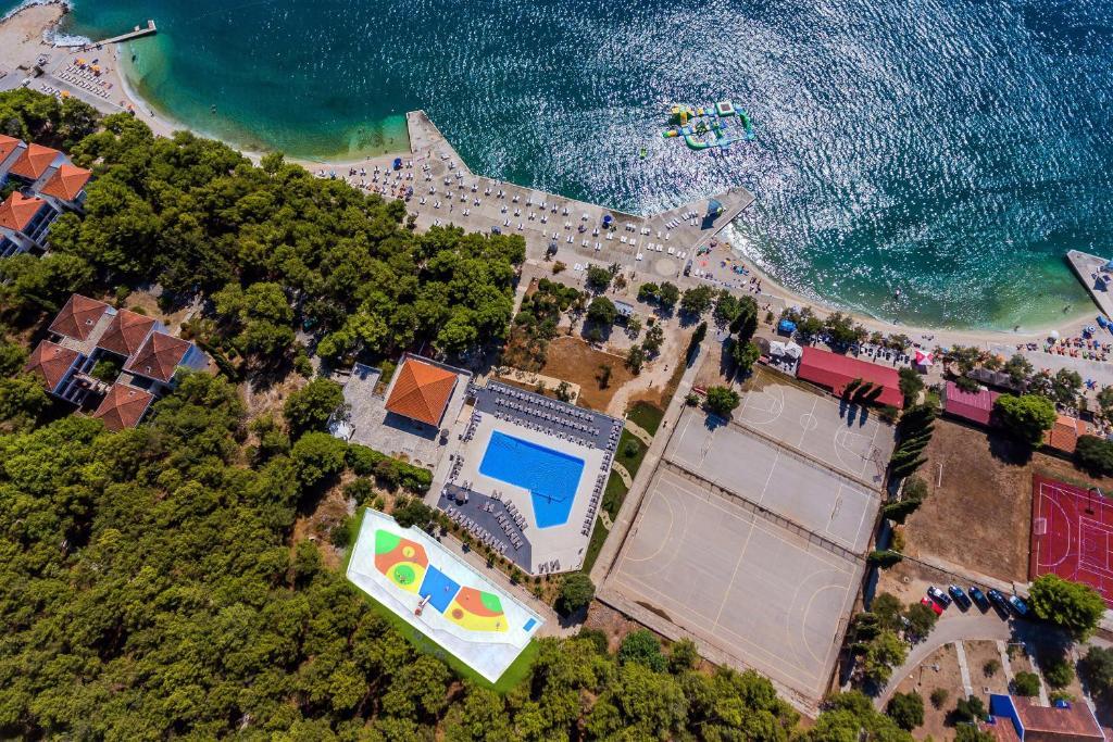 Letecký snímek ubytování Hotel Medena