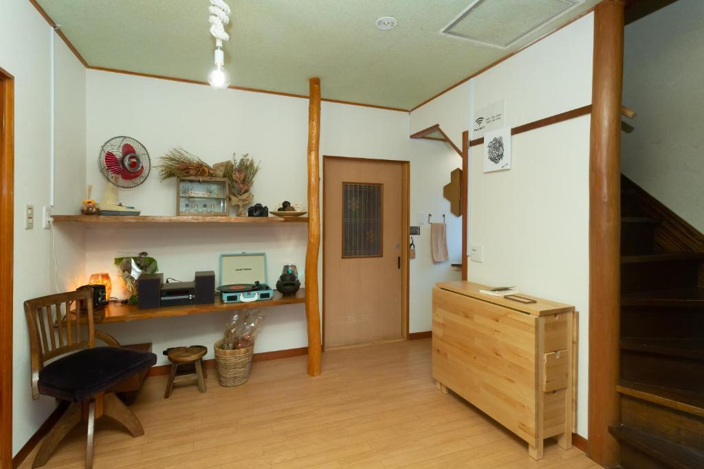 A kitchen or kitchenette at Tipy records inn