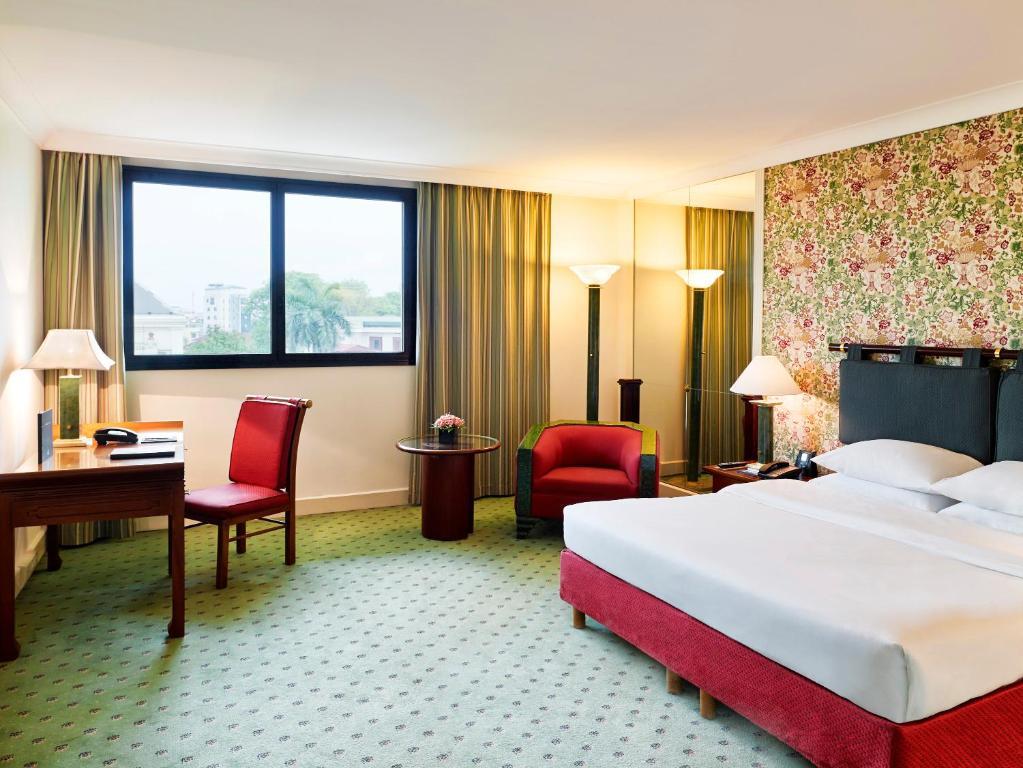 Phòng Hilton Deluxe Giường Cỡ King / Giường Đôi